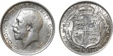 George V, Silver Half-crown, 1915