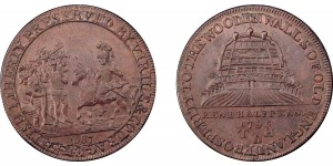 Kent. Deptford. 1795. Halfpenny Token. D&H 13