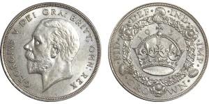 George V. Wreath Crown, 1931