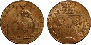 Middlesex. Davidsons. 1795. Halfpenny Token. D&H 295