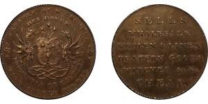 Scotland. Hutchinson's. Halfpenny Token. 1791. D&H 32
