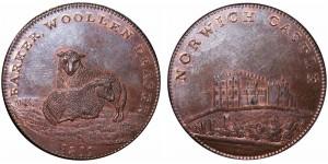 NORWICH. JOHN BARKER PENNY. 1811. W. 905.