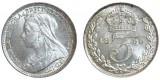 Victoria. Silver Groat. 1899