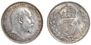 Edward VII. Silver Groat.