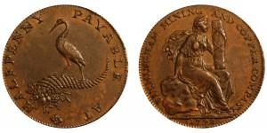 Warwickshire. Birminham & Mining Copper Co.  DH86