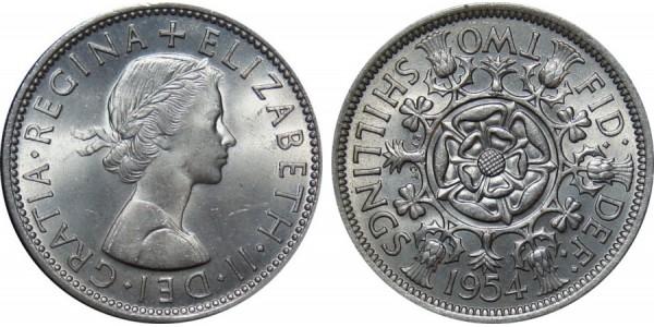 Elizabeth II, Florin, 1958.