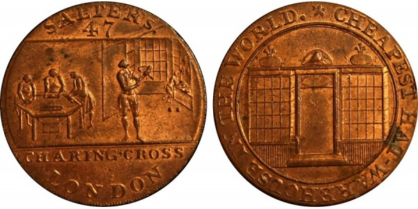 Middlesex. Salter's Halfpenny.  DH 473