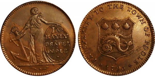 Dorset. Poole Farthing.  DH 10