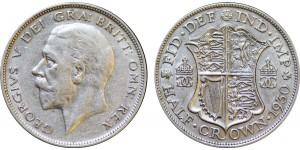 George V, Silver Half-crown, 1930.