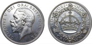George V, Silver Wreath Crown, 1927