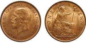 George V, Bronze Penny, 1929