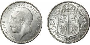George V, Silver Half-crown, 1926