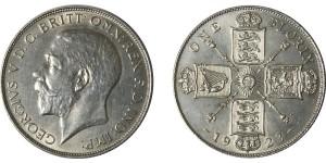 George V, Silver Florin 1923.