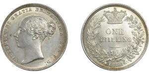 Victoria, Silver Shilling, 1838.