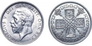 George V, Silver Florin. 1930