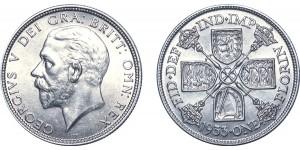 George V, Silver Florin. 1933