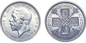 George V, Silver Florin. 1935