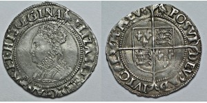 Elizabeth I, Silver Groat, Sixth Coinage, 1562-1600