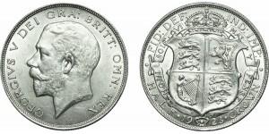 George V. Silver Half-crown, 1923
