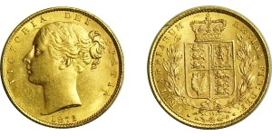 Victoria, Gold Sovereign.1872.