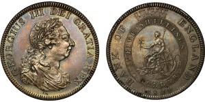 George III, Silver Dollar, 1804