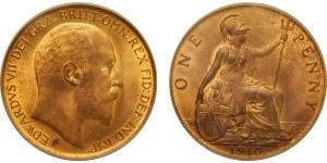 Edward V, Bronze Penny, 1890