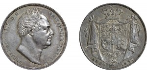 William IV, Silver Half-crown, 1837
