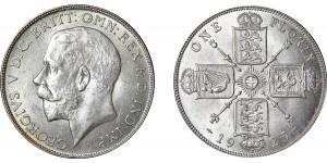 George V, Silver Florin 1925