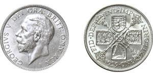 George V, Silver Florin 1929