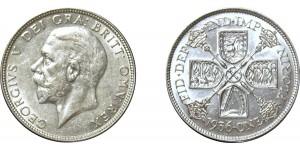 George V, Silver Florin 1936