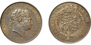 George III, Silver Half-crown, 1817