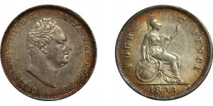 William IV, Silver Groat, 1836