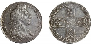 William III, Silver Half-crown, 1697