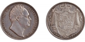 William IV, Silver Half-crown, 1834