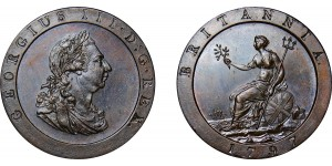 George III, Copper Penny, 1797