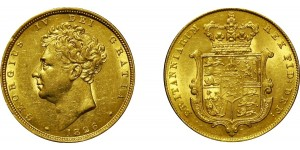 George IV, Gold Sovereign, 1826