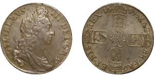 William III, Silver Crown, 1695