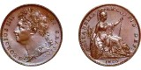 George IV, Copper Farthing, 1825