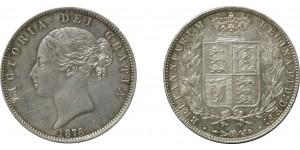 Victoria, Silver Half-crown, 1878