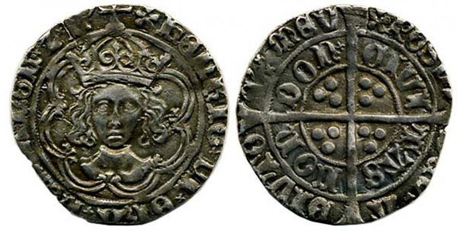 Henry VII, Silver Groat. 1485-1509