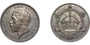 George V. Wreath Crown, 1932