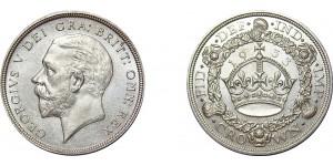 George V. Wreath Crown, 1933