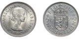 Elizabeth II, Scottish Shilling, 1959.