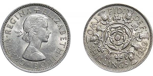 Elizabeth II, Florin, 1959