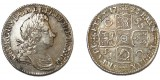 George 1, Silver Shilling, 1686