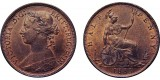 Victoria, Bronze Halfpenny, 1883