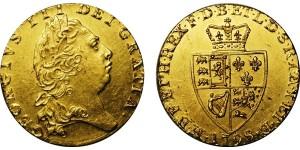 George III, Gold Spade Guinea, 1798.