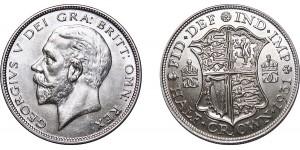 George V, Silver Half-Crown, 1931