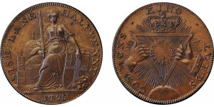 Middlesex. Davidsons. 1795. Halfpenny. DH 295
