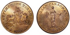 Norfolk, Attleborough Two Sillings. 1811. Dalton 4.